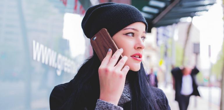 общение по телефону