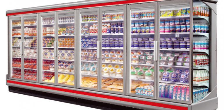 Холодильные горки - популярный вид торгового оборудования