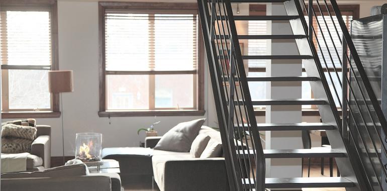 Интерьер в стиле loft