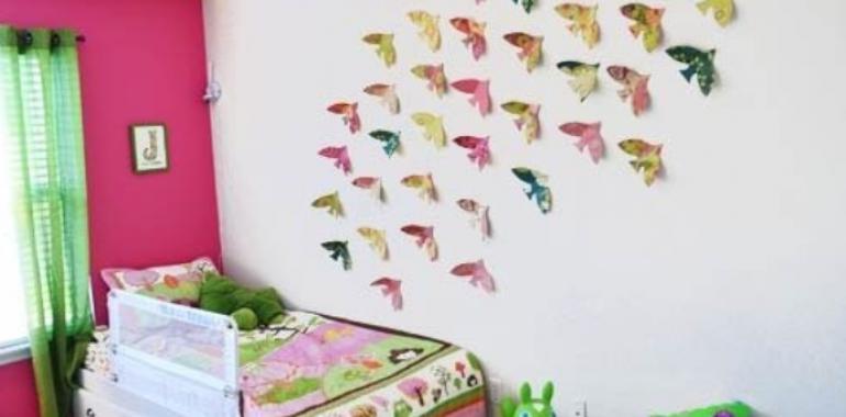 Как можно украсить комнату своими руками