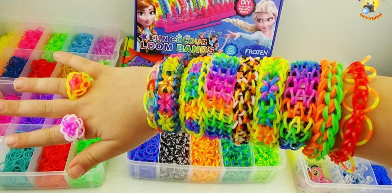 Какие бывают резинки для плетение