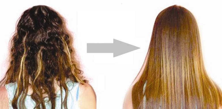 Кератиновое выпрямление волос или ламинирование