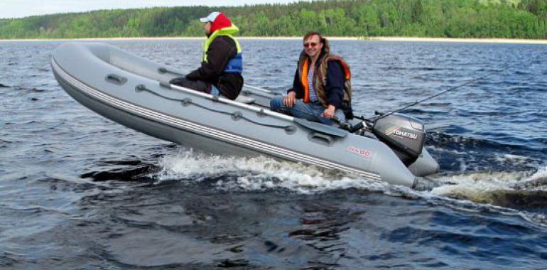 Самые лучшие надувные лодки ПВХ под мотор