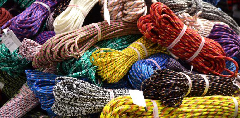 Страховочно-спасательная верёвка для альпинистов