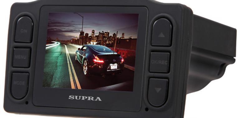 Видеорегистратор для автомобиля SUPRA SCR-90R