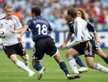 Германия победила в ¼ финала ЧМ-2006 сборную команду Аргентины