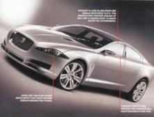 Появились фото нового Jaguar