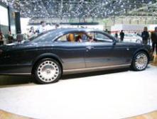 Новый суперкупе Bentley