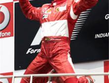 """Пилот """"Феррари"""" Михаэль Шумахер стал победителем Гран-при США - десятого этапа чемпионата мира в классе гонок """"Формула-1""""."""