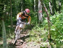 Соревнования по скоростному спуску и дроппингу на экстримальных горных велосипедах IMPULSE RACE CUP - этап 2