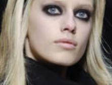 Гламурная готика в макияже