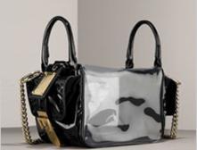 Patent Convertible Bag от D&G: новый взгляд на прозрачную сумку