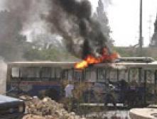 В Панаме загорелся автобус: 18 человек сгорели заживо