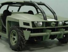 В США начались испытания нового военного автомобиля