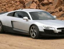 Audi сделала рекламу R8