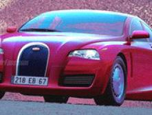 Bugatti готовит седан