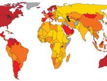 Рейтинг стран мира по коэффициенту счастья