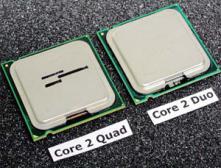 Появились результаты тестирования четырёхъядерных чипов Intel