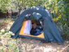 Выползаю ночью из палатки...