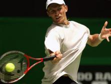 Давыденко стартовал с победы на теннисном турнире в Санкт-Петербурге