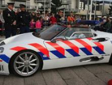 Голландская полиция поедет на Spyker