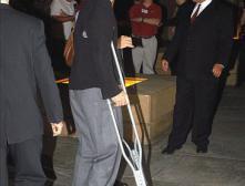 Костыль - тоже стиль: Джордж Клуни