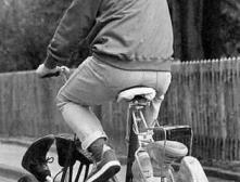 Как правильно ездить на велосипеде?