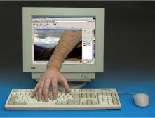 Милиционер и компьютер