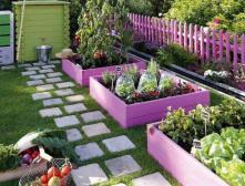 как украсить садовый участок своими руками фото