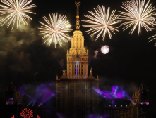 фейерверк в Москве